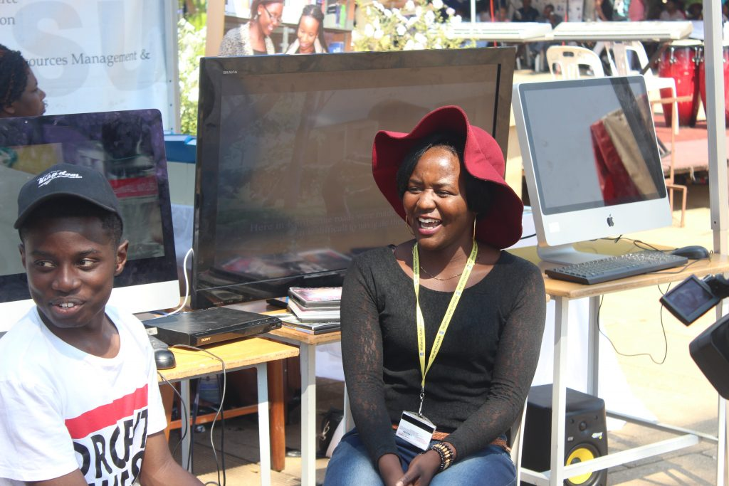 Kudakwashe Maxwell Being Interviewed at GIBF