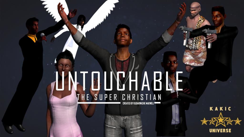Untouchable the super christian Cover