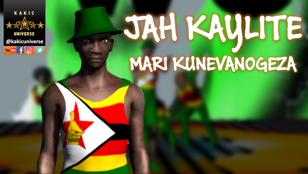 Jah Kaylite Mari Kunevanogeza Cover Image