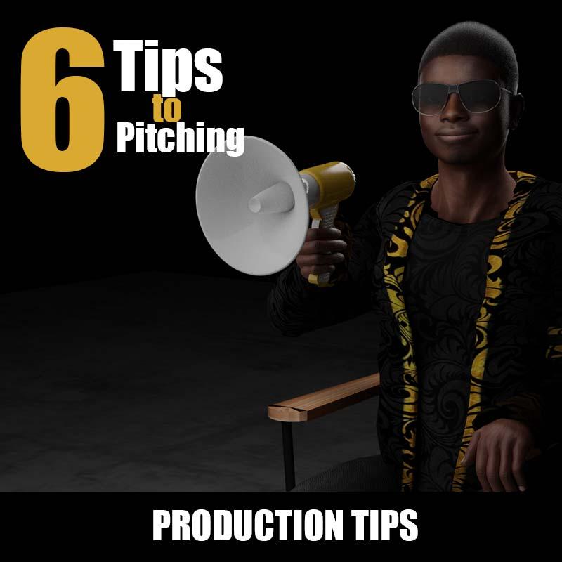 6 Tips to Pitching| Zimbabwe Animation | Kakic Universe