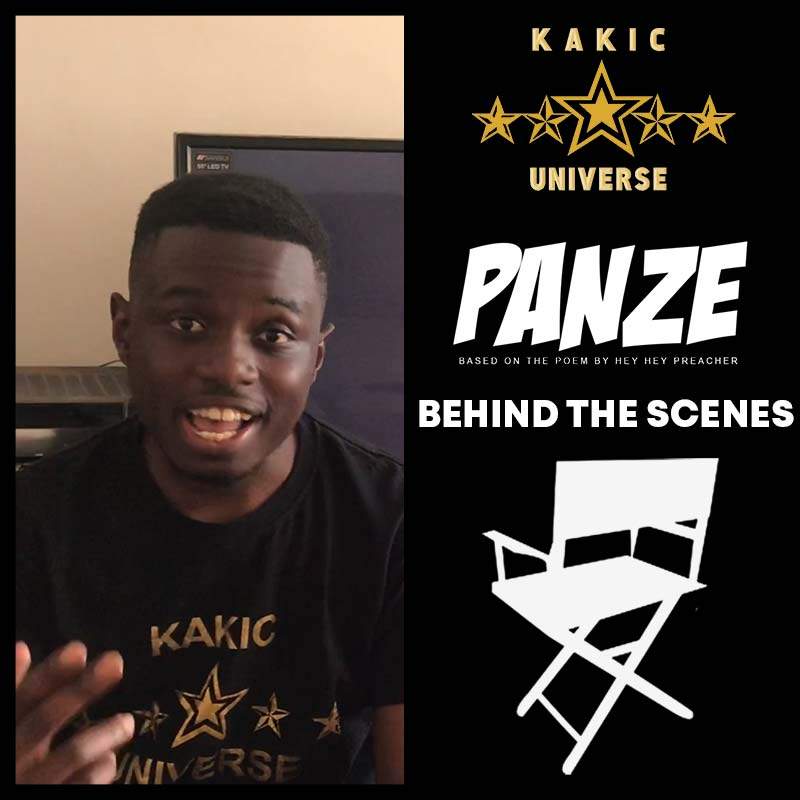 Behind the scenes, Hey Hey Preacher, Panze | Zimbabwe Animation | Kakic Universe