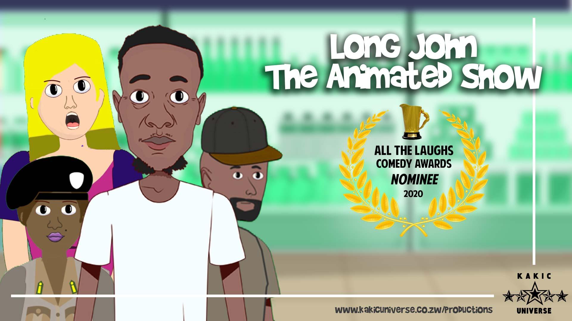 Long JOhn the aniamted show nominated for an award | Zimbabwe Animation | Kakic Universe